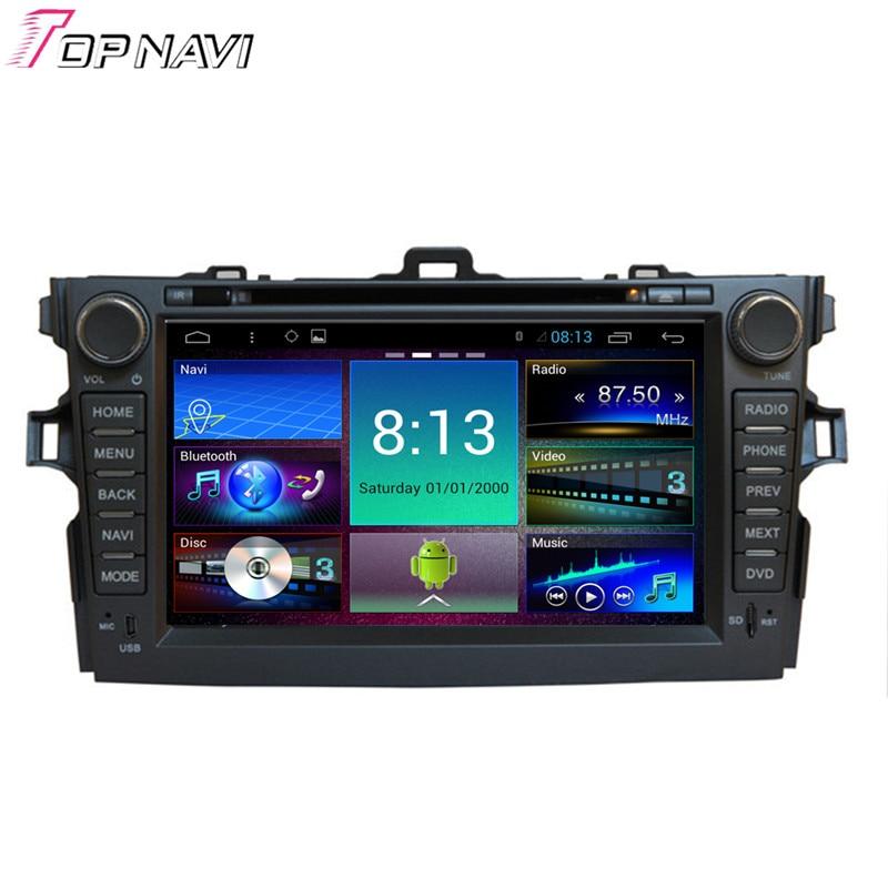 Topnavi 8 Quad Core Android 6 0 Car DVD font b Multimedia b font Player for