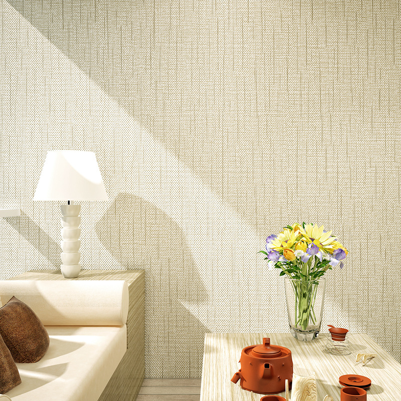 plain simple modern wall bedroom 3d decor living background paper texture study dots grey wallpapers flax woven solid non roll