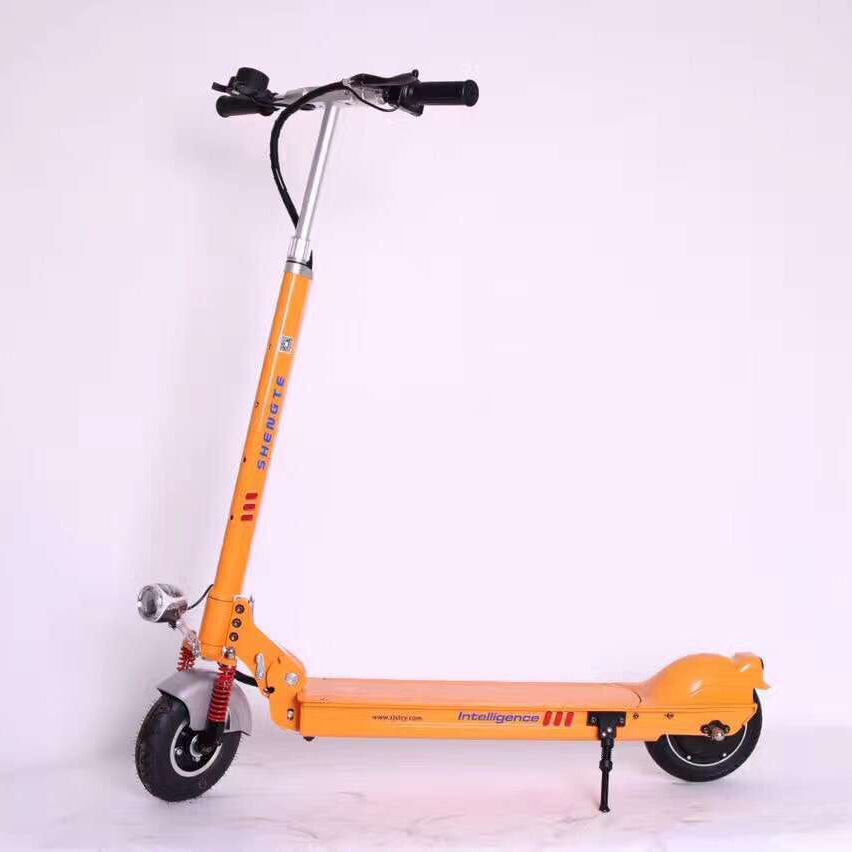 Ehrlichkeit 2017 Shengte 36 V 10.4a Zwei Rad Elektrische Roller Für Jugend Ein Kunststoffkoffer Ist FüR Die Sichere Lagerung Kompartimentiert Elektro-scooter