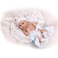Classic 27cm Bebe Reborn Girl Doll NPK Handmade Full Silicone Vinyl bonecas bathable Baby Dolls Kids Birthday Gift