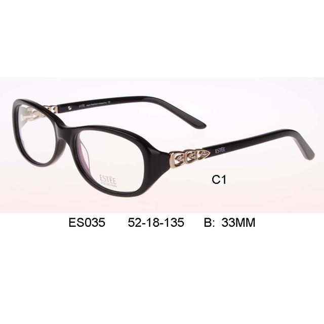 b61930b356be7 Mujer marca senhora Óptica Óculos De armação Meninas Miopia Óculos Frames  oculos de grau femininos Oculos