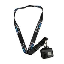 GoPro Средства ухода за кожей шеи ремешок для GoPro Hero 5 2 3 3 + 4 сеанса SJCAM SJ4000 sj5000 sj7000 для Xiaomi Yi камеры аксессуары