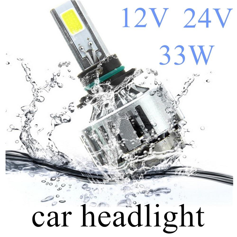 2pcs H1 H3 12V 24V 33W clear light car external lights headlight bulb lamp 3300LM 6000K new arrival perfectolight 24 0005 светильник настольный девочка h 33 24