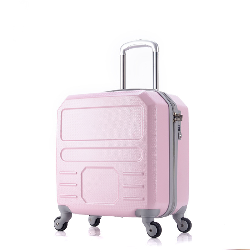 New Arriavl!Korea fashion lovely abs+pc hardside travel luggage for girl,16inches trolley luggage,girl birthday gift wholesale 24 inch abs pc red cartoon hardside suitcase good quality fashion universal trolley luggage gift for girl euro style