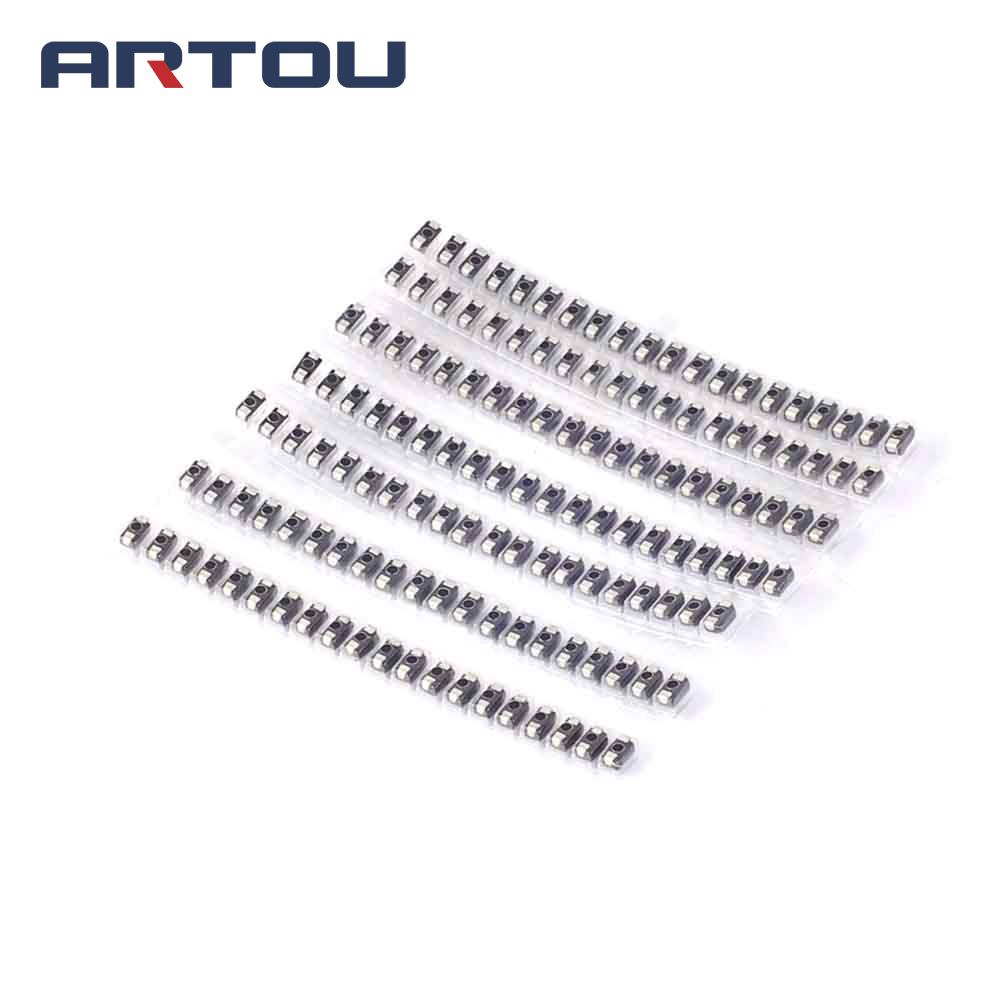 140pcs 7 value each 20pcs SMD diode package M1 M2 M4 M7 SS12 SS14 SS34