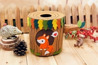 DIY Nonwoven Fabric Roll Paper Box Squirrel Tissue Box Don T Need To Cut Handmade Material