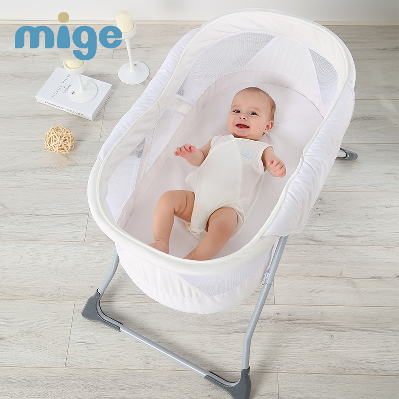 Baby crib multi-functional portable environmental folding bed handy with mosquito nets children's bed