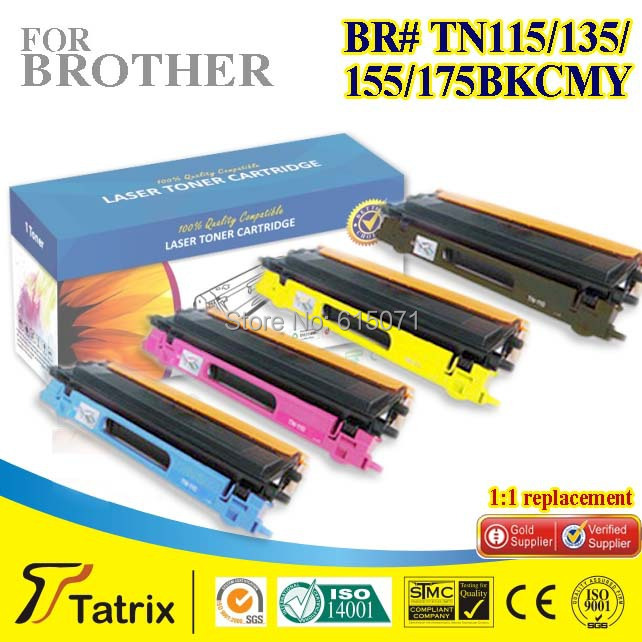 ФОТО Compatible Toner Cartridges TN115/135/155/175 for Brother Laserjet Printer ,free shipping