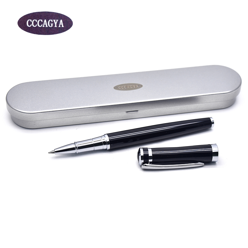 CCCAGYA B020 fashion Metal Gel pen 0.5mm nib  Learn office school stationery Gift luxury pen & business Writing Ballpoint pen