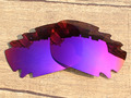 Purple Red Mirror Polarized Replacement Lenses For Jawbone Vented Sunglasses Frame 100% UVA & UVB Protection