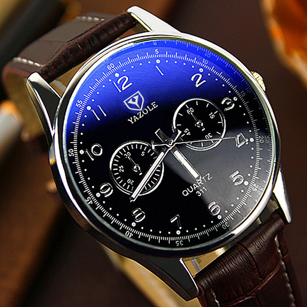 YAZOLE Business Watch Men Watches 2017 Top Brand Luxury Famous Mens Quartz Watch Wrist Hodinky Male Clock Relogio Masculino