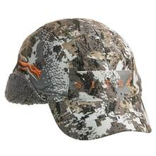 2019 Winter Sitka Hunting Cap Men GTX Hat Camouflage Cap Berber Fleece Lining Windproof Waterproof Cap Outdoor Baseball Cap OSFA(China)