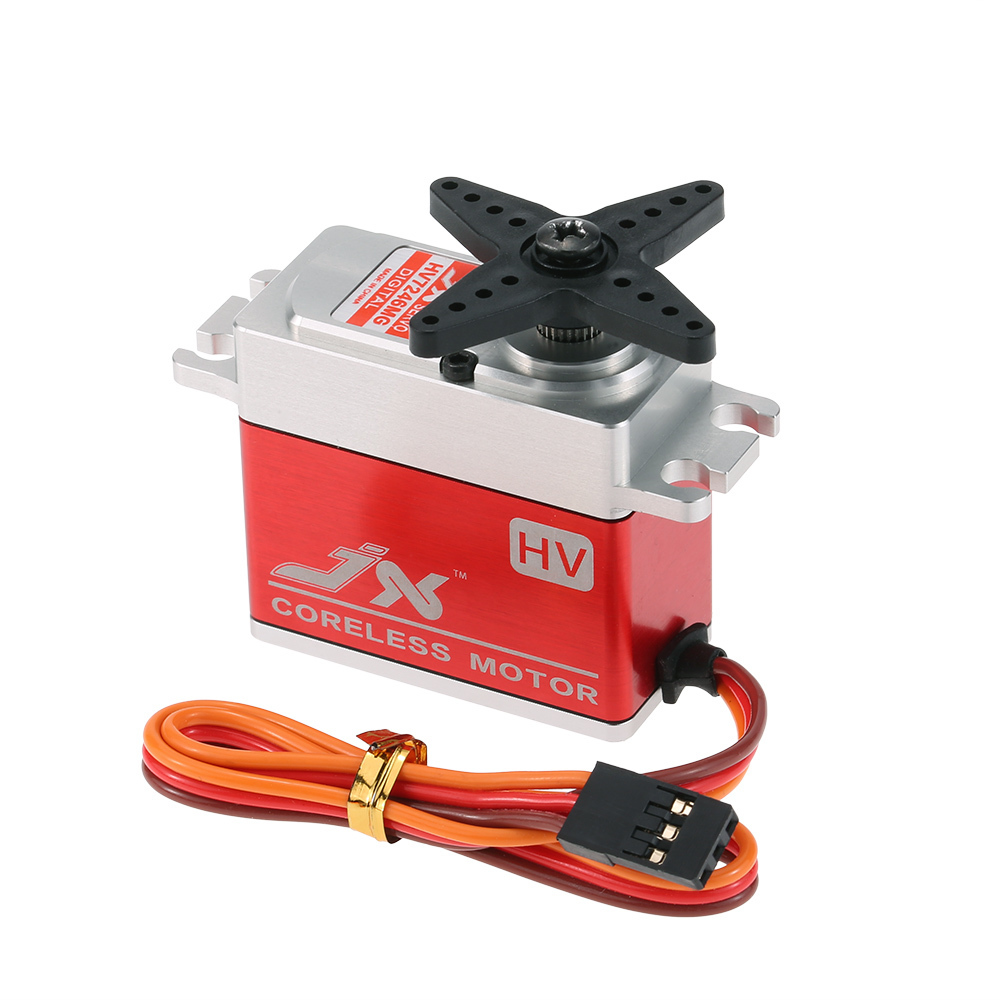 JX PDI-HV7246MG 46KG Metal Gear High Voltage Digital Coreless Standard Servo for RC Car 550-700 Airplane Helicopter superior hobby jx cls6310hv 10kg aluminium shell metal gear high voltage coreless digital servo