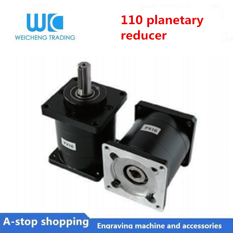1pc planetary reducer <font><b>110</b></font> reducer Ratio 10:1 12:1 16:1 20:1 24:1 30:1 36:1can be equipped with stepper / servo / brushless <font><b>motor</b></font> image