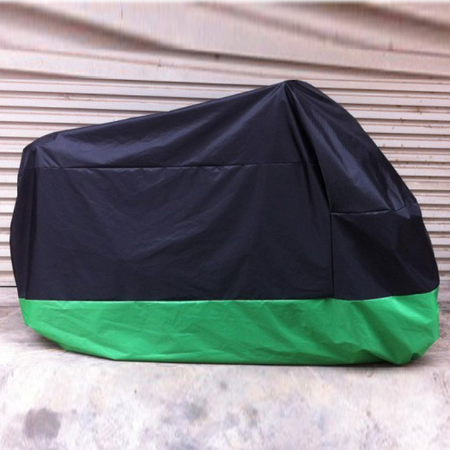 Waterproof Motorcycle Cover UV Rain Protector Motobike Bike Black Green Scooter Cover Rain UV Dust Prevention Dustproof Covering