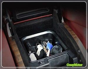 Image 2 - Автомобильный органайзер для Land Rover Expression Range Rover Sport 2014 2017, центральный автомобильный подлокотник для хранения, футляр для перчаток, автомобильные аксессуары