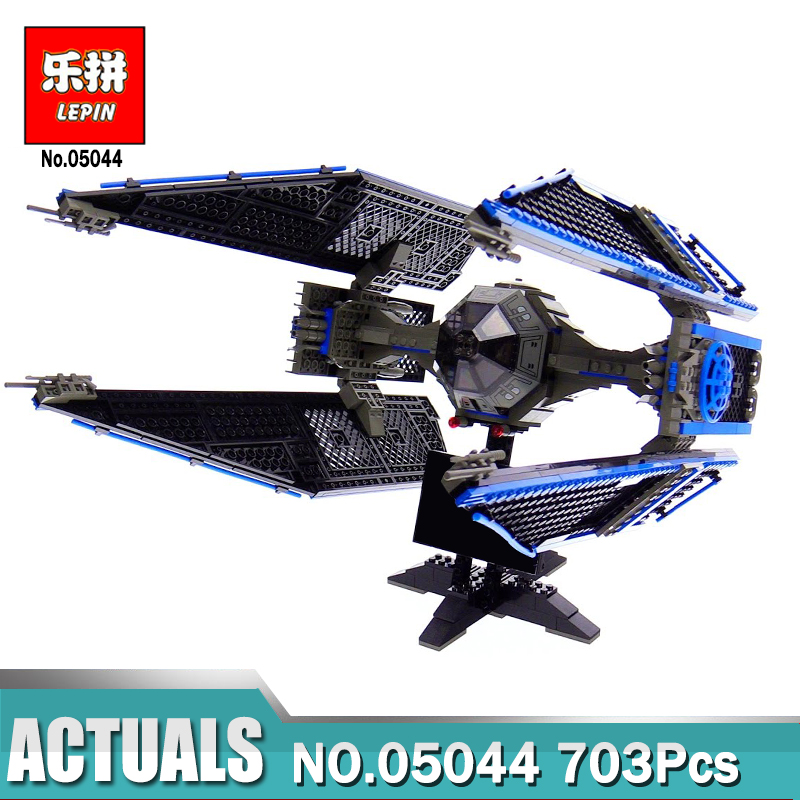 Lepin Building Block 05044 Compatible Legoing Star Wars The TIE Interceptor 7181 Brick Model Educational Toys For Children конструктор lepin star plan истребитель tie interceptor 703 дет 05044
