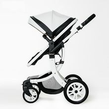 Baby Stroller 2 in 1 Stroller Lying or Dampening Folding Light Weight Two-sided Child Four Seasons High-Landscape Fashion Style