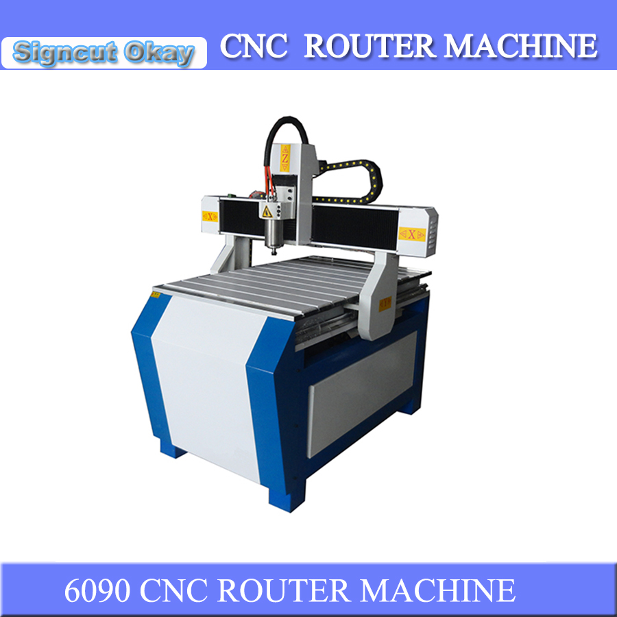 Factory Price CNC Wood Router Machine Small Portable Woodworking Machine 6090 With 1.5kw/2.2kw/3.0kw Spindle Motor