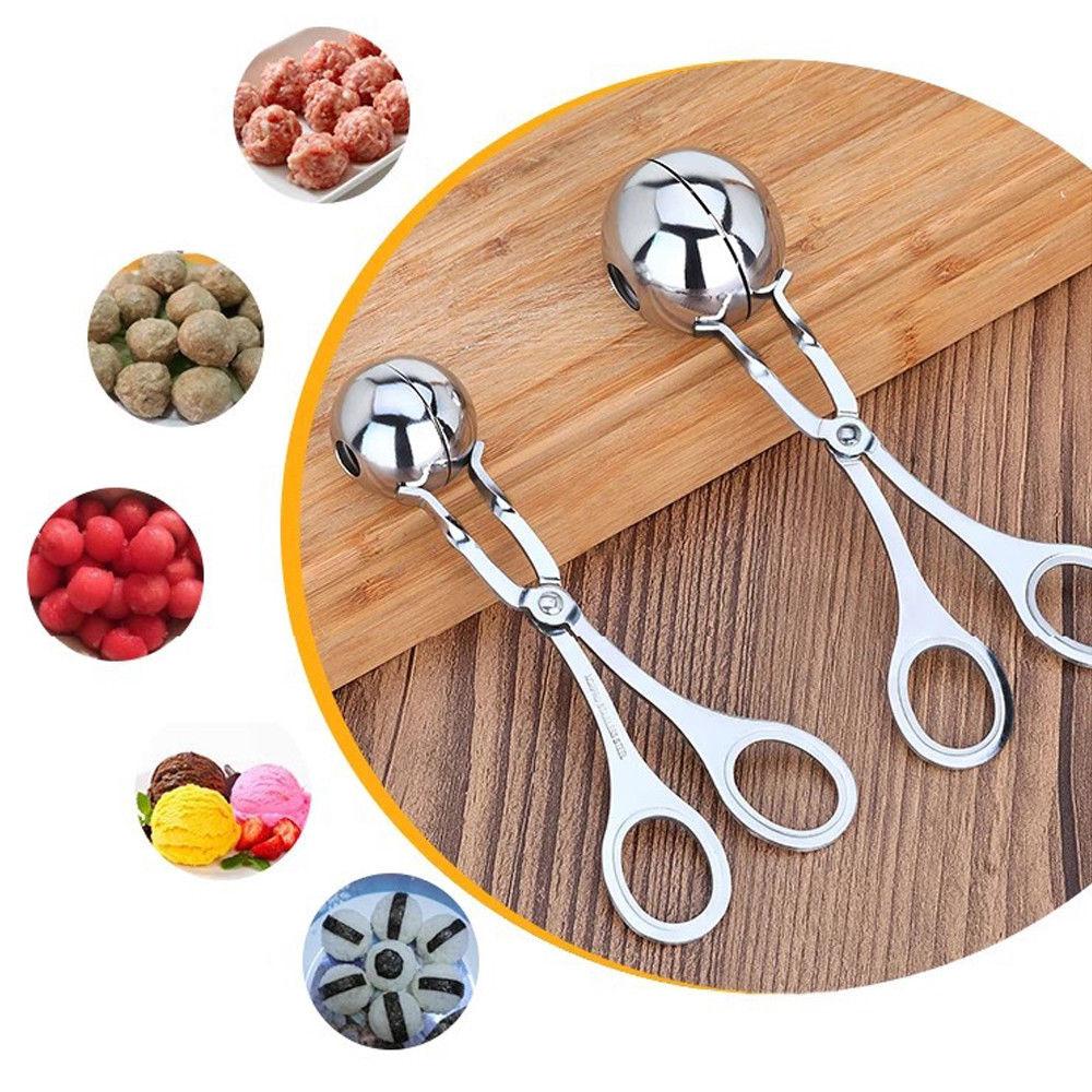 Convenient Meatball Maker Stainless Steel Stuffed Meatball Clip DIY Fish Meat Rice Ball Maker 16 cm /17 CM
