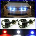 Супер тонкий автомобильный светодиодный противотуманный задний светильник, новейший светодиодный белый светильник с орлиным глазом, дневной ходовой задний резервный светильник для автомобиля - фото