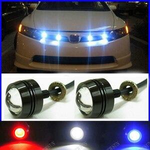 Super Thin Car LED Fog Reverse Light,Newest LED Eagle Eye White Light Daytime Running Tail Backup Light Car Motor
