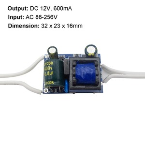 Image 5 - DC 12V LED Driver 300mA 450mA 600mA 1A 2A Power Supply for LED Strip String Spotlight AC 110V 220V Transformer