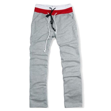 SZ LGFM Men Sweat Pants Dance Baggy Jogging Trousers Gray