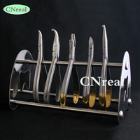 1 piece Dental Stand Holder for Pliers Forceps Scissors Stainless Steel Dentist Lab Device Instrument (without pliers)