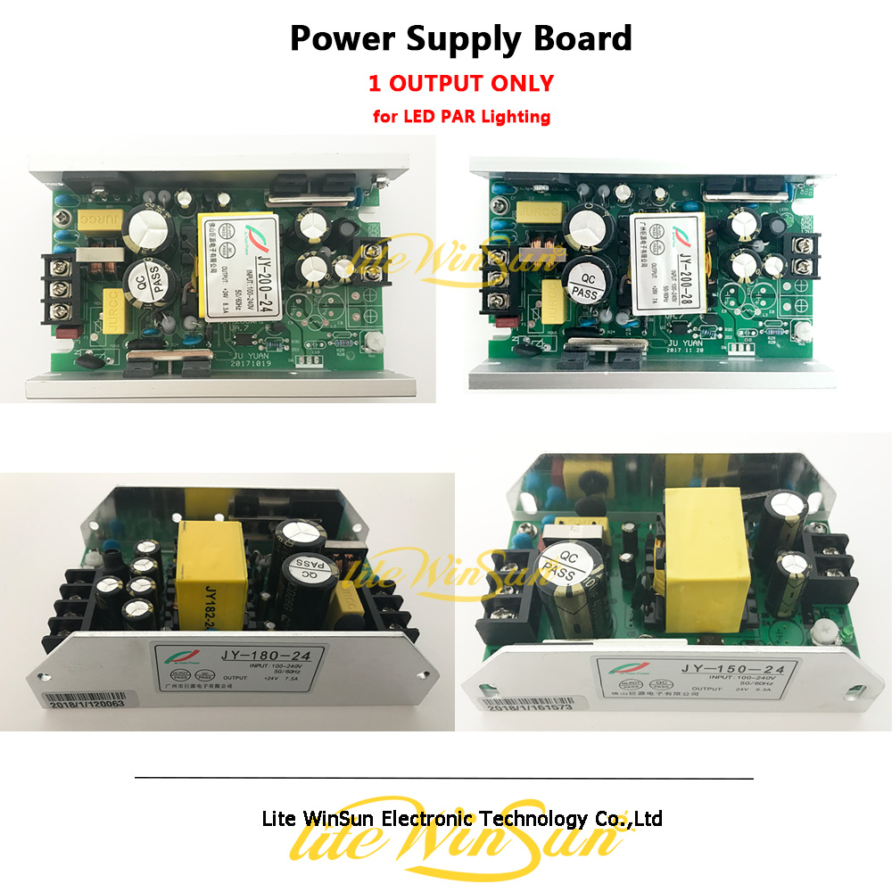 Litewinsune Freeship 150W 180W 200W DC24V 36V Switch Power Supply Board For LED Par DJ Stage Lighting