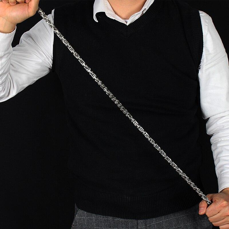 Kung fu auto-defesa pulseira chicote edc portátil titânio aço chicote