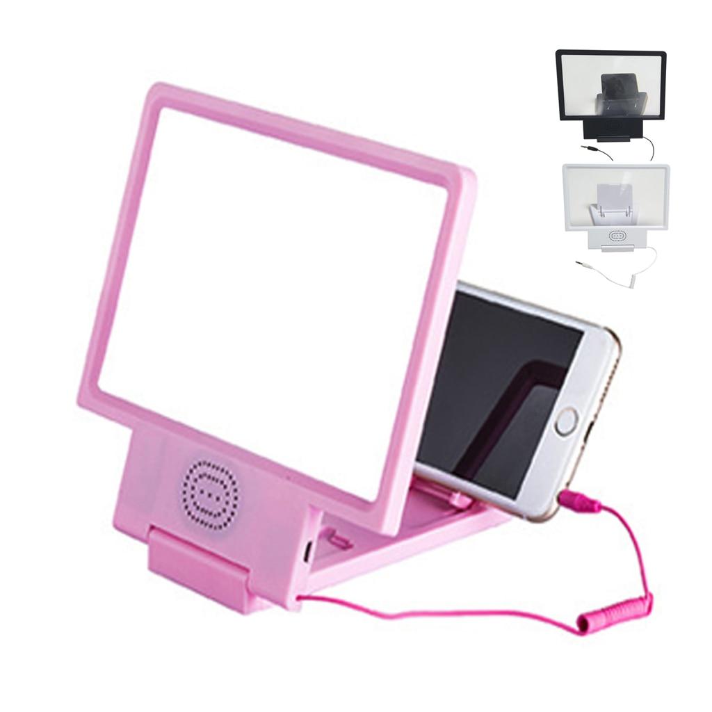 Screen Magnifier Amplifier Horn Sound Video Enlarge Mobile Phone Screen Amplifier Sound Loud Speaker Universal Portable Folding