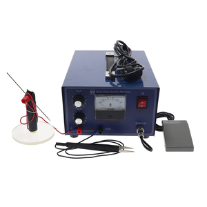 Image 5 - DX 50A high power laser spot welder pulse spot welding touch welder welding machine with jewelry equipment