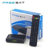 Originale Freesat V7 Mini Ricevitore Satellitare Digitale Full HD DVB S2 supporto USB WiFi Bisskey newcamd Powervu Freesat Set Top Box