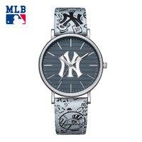 MLB YH loạt thời trang Mỹ nhãn hiệu sport men xem hợp kim da không thấm nước 50 meter thạch anh đồng hồ nam YH008