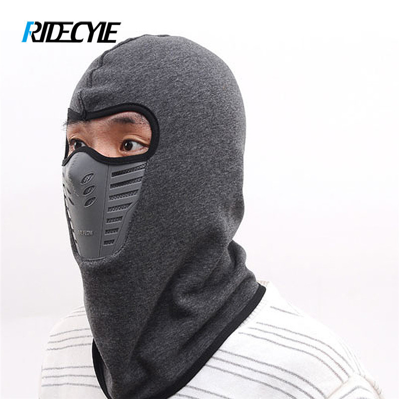 RIDECYLE Winter Cycling Sport Face Windproof Protective Mask Shield Men Bandana Outdoor Ski Facemask Anti Dust Innrech Market.com