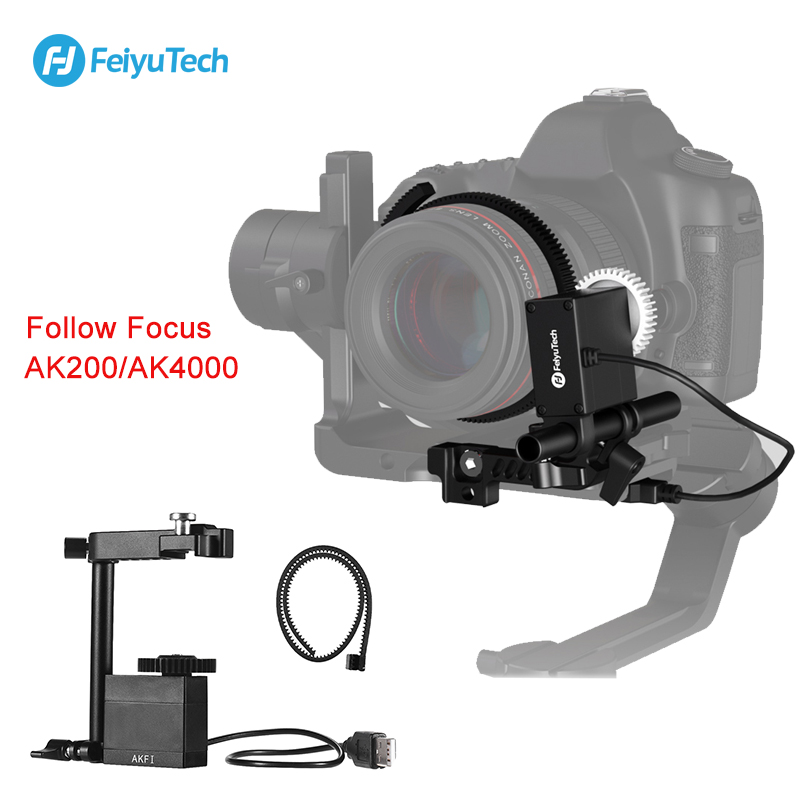 FeiyuTech AKFI AK Serise Free Servo Follow Focus Gear Ring Adjustable Support Real Time Focus for