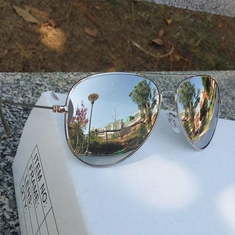 Raggaeon бренд высшего качества человек женские солнцезащитные очки Polarized pilot Авиатор жарких лучей солнцезащитные очки металлический каркас зе...