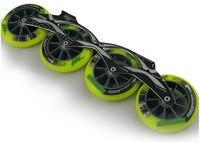 Бесплатная доставка скорость коньки колеса и рамы 90 мм 100 мм 110 мм