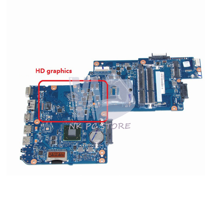 H000052740 Main Board For Toshiba Satellite L850 C850 Laptop Motherboard 15.6 inch HM70 GMA HD DDR3 Free cpu nokotion sps t000025060 motherboard for toshiba satellite dx730 dx735 laptop main board intel hm65 hd3000 ddr3