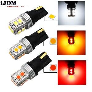 Image 2 - 10ピースt10 led電球canbus白12ボルトw5w 168 194 ledランプライセンスプレートライト、また、駐車位置ライト、インテリアライト