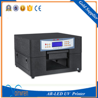Led Uv Printer A4 Indoor Uv Printing Machine For Plate Type Metal With High Resolution