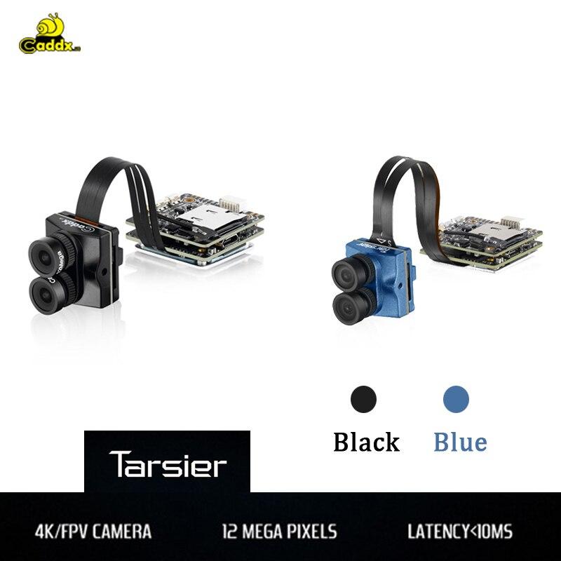 Caddx Tarsier 4K 30fps 1200TVL Dual Lens Super WDR WiFi Mini FPV Camera for RC Drone