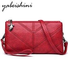 2019 Fashion Women Handbag Top Quality Bag For Woman Casual Shoulder Bag Female Soft Leather Messenger Bag Fashion Ladies Clutch