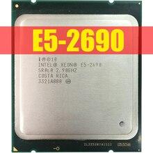 Процессор Intel Xeon E5 2690 E5 2690 восемь ядер 2,9G SROL0 C2 LGA2011 CPU 100% Рабочий механизм процессор для настольного ПК сервера