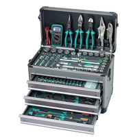 Pro'skit 124 in 1 Professional Sleeve Hand Tools Set Professional Electrician Car Maintenance And DIY Enthusiasts Tool Kit