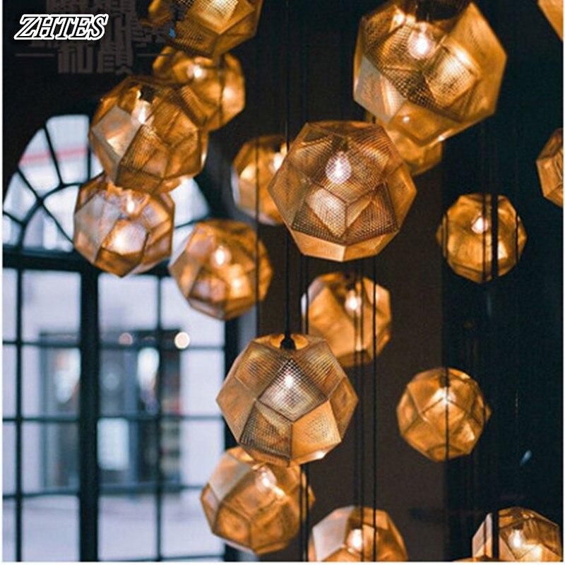 Modern Geometry Net Pendant Light Personality Ball Light Restaurant Bar Pendant Lamp Silver Copper Golden bestdvr 805 light net в москве