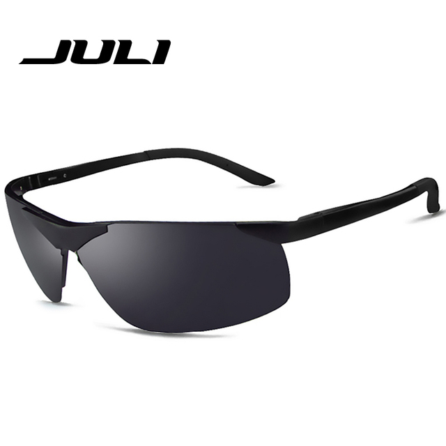 625129ac5834 JULI Polaroid Sunglasses Men Polarized Driving Sun Glasses Mens Sunglasses  Brand Designer Fashion Oculos Male Sunglasses 888C