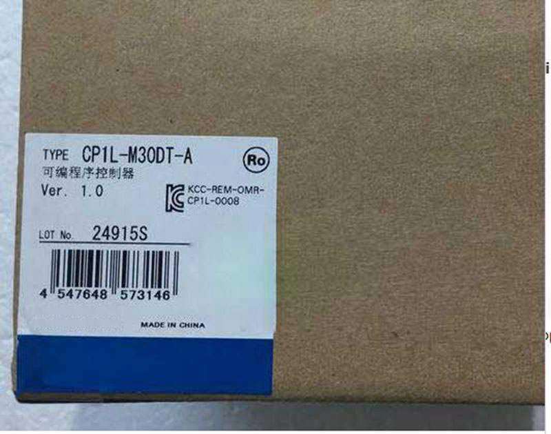 New Original CP1L-M30DT-A PLC CPU 100-240VAC input 18 point transistor output 12 point new original cp1l l10dt d plc cpu 24vdc input 6 point transistor output 4 point