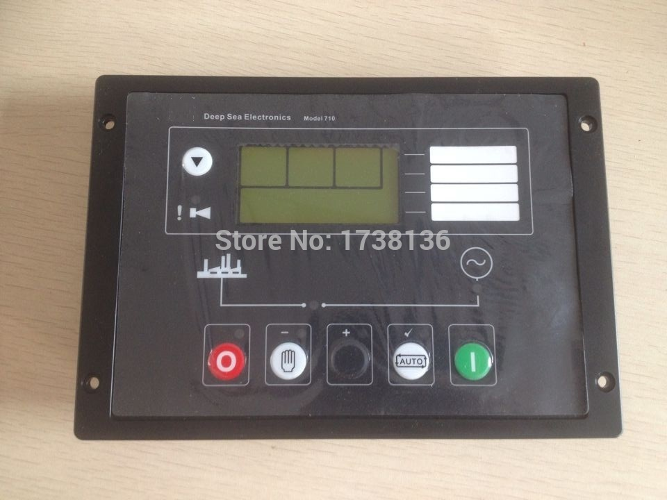 made in China Auto Start generator controller 710 replace DSE710 lxc706 diesel generator auto start control completely replaced dse702 diesel generator auto start control